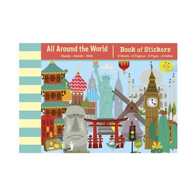 All Around the World Book of Stickers By Sims, Sean (ILT)