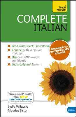 Complete Italian By Vellaccio, Lydia/ Elston, Maurice